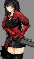 Raven is so badass and cool-looking, too bad she's a b*tch xD
