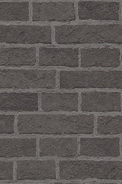 Grey Rustic Brick Wallpaper
