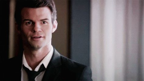 Daniel Gillies as Elijah Mikaelson (TO) - Smiling ✔ Regularly updated.