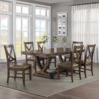 Lakemont 7 Piece Dining Set Bayside Furnishings Dining Room Design Dining Room Furniture Sets