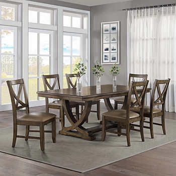 Lakemont 7 Piece Dining Set Dining Room Furniture Sets Dining Room Design Dining Room Table Set