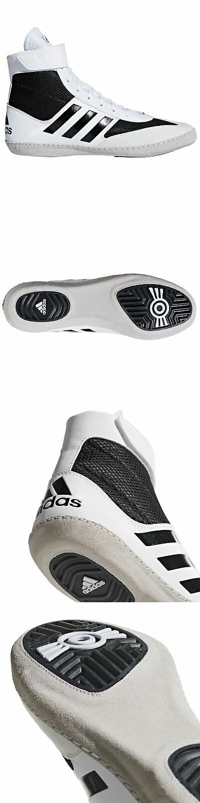 d2401f25e1e0 Accessories 36306  Adidas Combat Speed 5 Mens Adult Wrestling Shoe Boot  White Black -