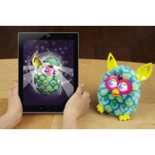 A whole new generation of #Furby is hatching! Combining physical and digital play, the new Furby Boom will take you on a digital adventure! It's a top #toy for #Christmas 2013