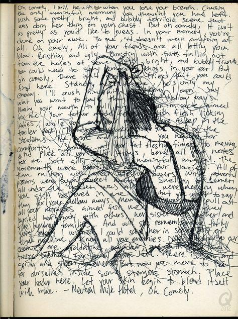 Oh Comely by C-Fillhart on DeviantArt Lyric Drawings, Sad Drawings, Dark Art Illustrations, Illustration Art, Sad Sketches, Music Lyrics Art, Beautiful Dark Art, Vent Art, Doodle Art Journals