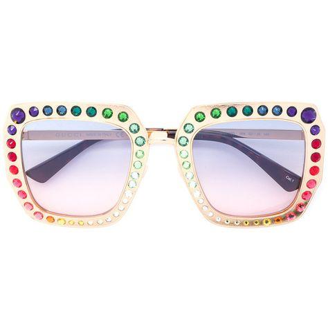 05b1d6418ef Gucci Eyewear Oversized acetate sunglasses ( 1