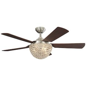 Harbor Breeze Parklake 52 In Brushed Nickel Indoor Ceiling Fan With Light Kit And Remote 5 Blade Lowes Com Ceiling Fan With Light Ceiling Fan Fan Light