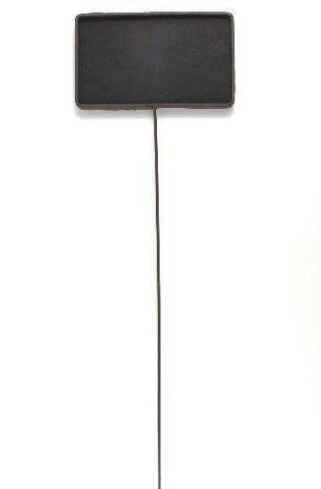 Tall Chalkboard on Stake, Metal Framed 24\