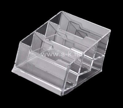 Pin By Acrylic Box And Display Stand On Brochure Holder Acrylic Box Business Card Holders Custom Displays