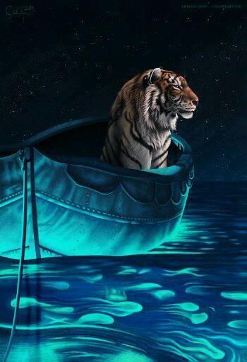 Tigre Vida De Pi Life Of Pi Alternative Movie Posters Pi Art