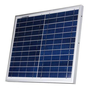 12v 12w Polysilicon Solar Panel Battery Charger System Module Marine Boat Rv Waterproof Solar Panels Solar Panel Battery Solar