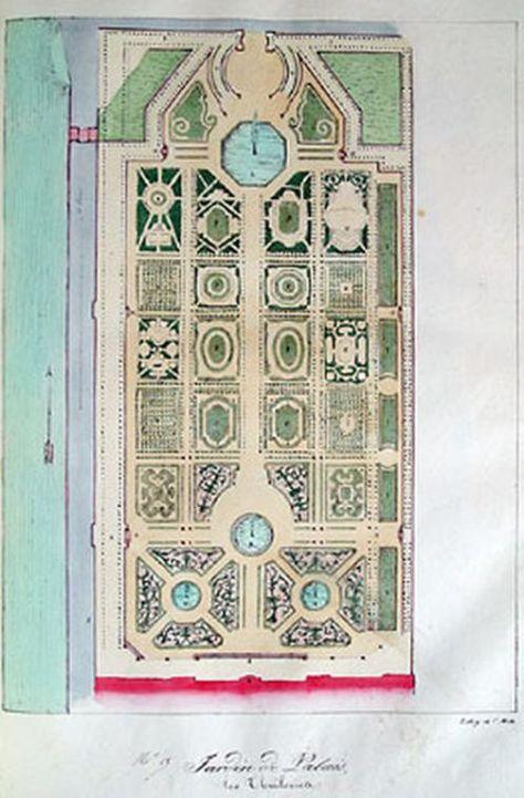 Jardin Des Tuileries Avec Images Jardins Plan Jardin