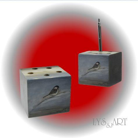 office desk accessories ideas with little wild bird chickadee blue rh pinterest ie