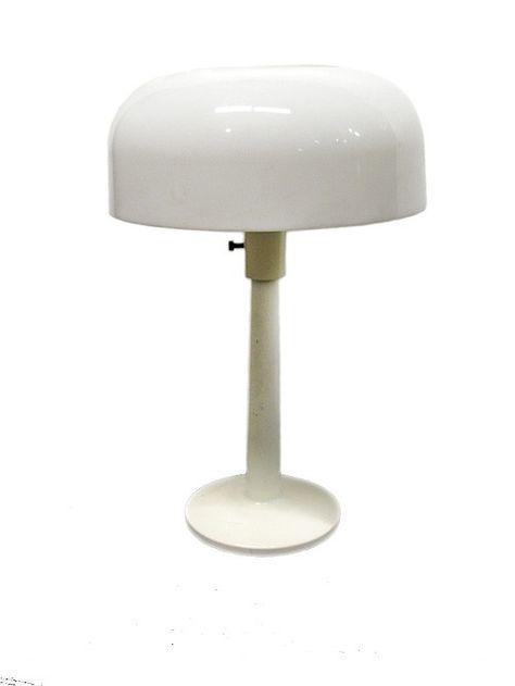 Lightolier Mushroom Basic White Table Lamp | HPE in 2019