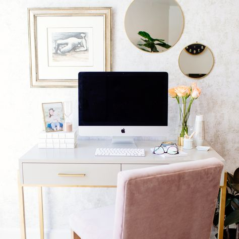 Office Makeover Ideas With Removable Wallpaper Tempaper Com Office Inspiration Workspaces Office Inspiration Home Office Decor
