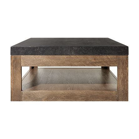 The Arhaus Thayer 38 Coffee Table In Ashland Natural Brown Is