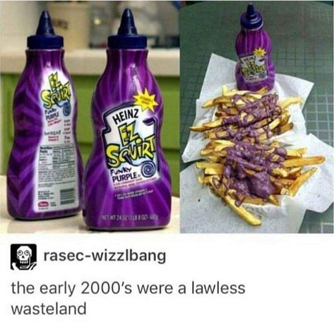 meme - Purple - PUPLE HEINZ EZ SJIR FUNKY PURPLE NE WT 24 02 - rasec-wizzlbang the early 2000's were a lawless wasteland 11