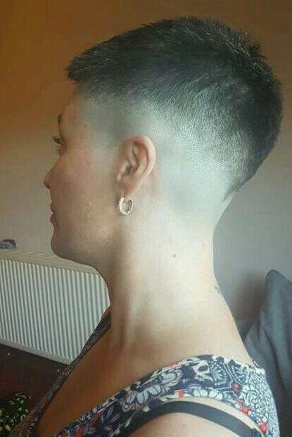 Powstruccise: frauen nacken rasieren