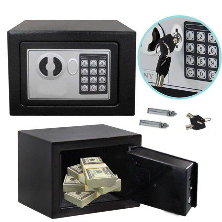 D Igital Safe Box Electronic Lock Fireproof Security Home Office