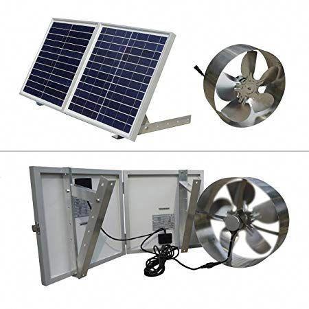 Eco Worthy Solar Powered Attic Fan Solarpanels Solarenergy Solarpower Solargenerator Solarpanelkits Solarwaterh In 2020 Solar Attic Fan Solar Powered Fan Solar Panels