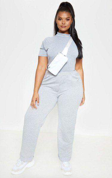 Prettylittlething Marl Tailored Sweat Jogger Con Imagenes Outfits Modelos