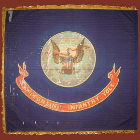 2nd Wisconsin Infantry Their Flag Wisconsins Civil War Battle Flags Civil War Flags Civil War Battles Civil War