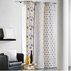 Gardinen Vorhange Grau Gelb Gardinen Set Und Gardinen