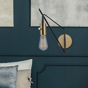 Swing Arm Wall Lamps You Ll Love Wayfair With Images Wall Lamp Wall Lamp Design Swing Arm Wall Lamps