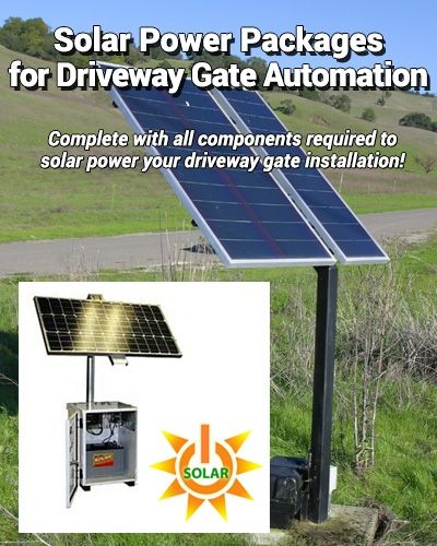 Duragate Cl 4300 Classic Flat Top 5 Bi Parting 12 Wide Driveway Gate Uncrated Solar Panels Solar Automatic Gates Driveways