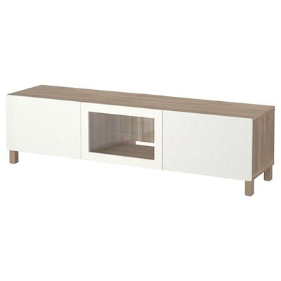 Besta Tv Unit With Doors And Drawers Ikea