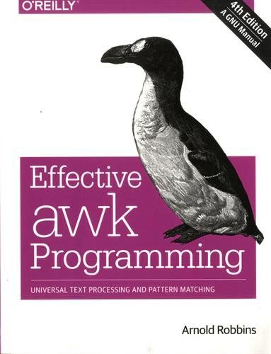 Free Download Pdf Effective Awk Programming Universal Text