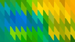 Abstract Blue Green And Yellow Geometric Shapes Background Vector