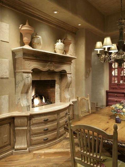 Cucine stile country | Fireplaces | Pinterest | Cucina, Cucine e ...