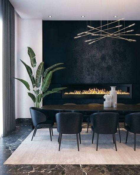 Dining Room Walls, Dining Room Design, Room Chairs, Contemporary Dining Room Lighting, Modern Lighting, Lighting Ideas, Lighting Design, Contemporary Kitchens, Contemporary Dining Rooms