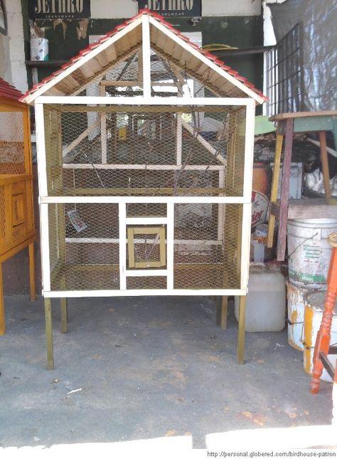 Creamos jaulas, en especial para aves, pero podemo...