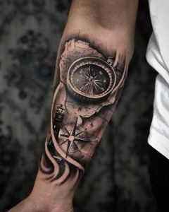 Clock Tattoos We Have A Photo Gallery Featuring Cool And Meaningful