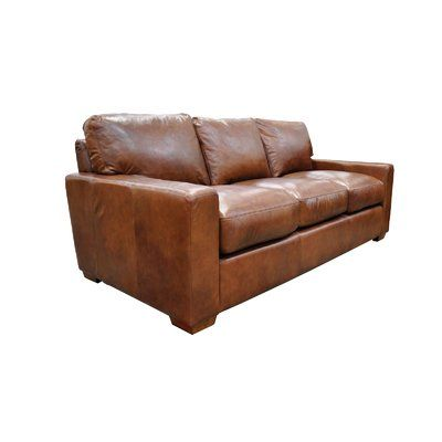 Omnia Leather City Craft Sofa Bed