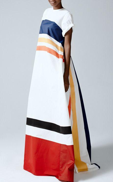 Movie Cars Dress by Rosie Assoulin for Preorder on Moda Operandi