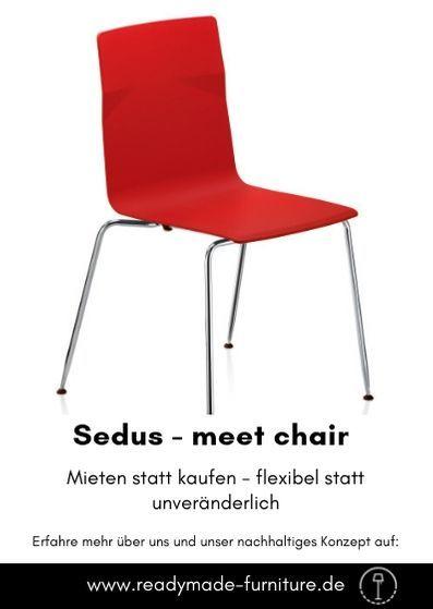 Sedus Meet Chair Rot Readymade Hochwertige Mobel Wohnen Ablage
