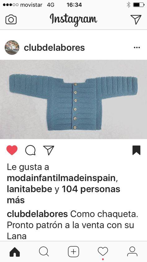 Pin de tamayo en algodon   Pinterest   Bebé, Tejido y Ropa niña
