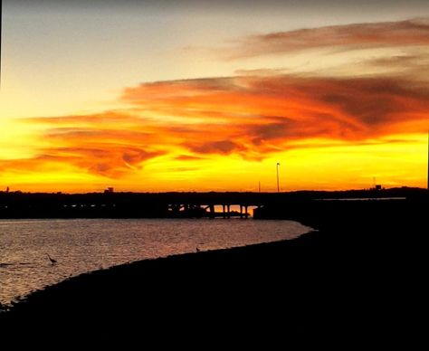Sunset over the Fascine #Carnarvon #6701 #home