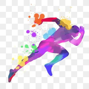 Running Sport Figure Silhouette Running Sports Figures Silhouette Png Transparent Clipart Image And Psd File For Free Download Silhouette Png Silhouette Art Dance Silhouette