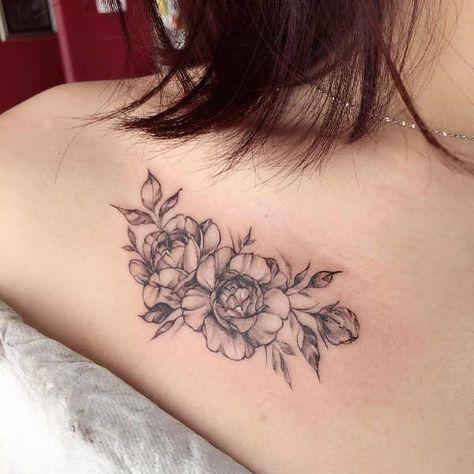 Tatuaggi sulla Clavicola: 100 foto e idee bellissime, Parte del corpo