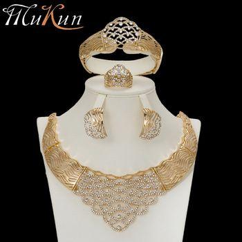 Pin By Anuj Rastogi On Gold Italian P Sets Dubai Gold Jewelry Gold Jewelry Sets Wedding Jewelry Sets