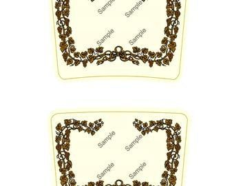 Blank Hennessy Label Hennessy Label Hennessy Label Printable Label Templates Hennessy