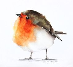 karolina kijak tiere malen Karolina Kijak Tiere MalenYou can find Aquarell tiere and more on our website Watercolor Bird, Watercolor Animals, Watercolor Illustration, Watercolor Artists, Watercolor Christmas, Bird Illustration, Watercolor Landscape, Watercolor Techniques, Art Techniques
