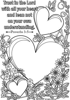 Do Small Things With Great Love Coloring Page Flower Leaves
