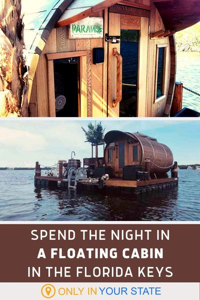 These Floating Cabins In Florida Are The Ultimate Place To Stay Overnight This Summer In 2020 Florida Vacation Florida Getaway Florida Travel