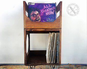 The Milk Crate Alternative 12 Inch Vinyl Record Storage Etsy Vinyl Storage Vinyl Record Storage Furniture Vinyl Record Storage