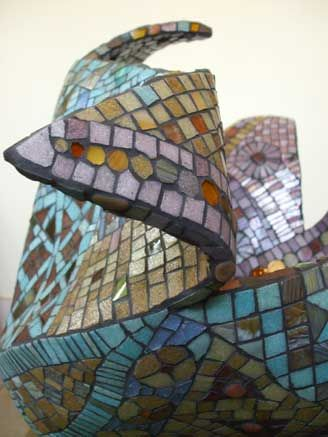 Wilma Wyss - Fluid Mosaic Sculpture