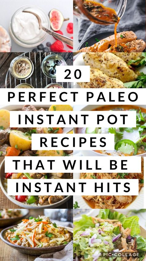 These recipes are perfect for your Instant Pot and are paleo friendly! #moodandhealth #paleo #instantpot #keto #lowcarb #slowcooker #whole30